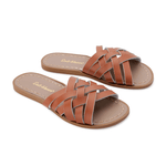 Salt Water Retro Slides - Tan