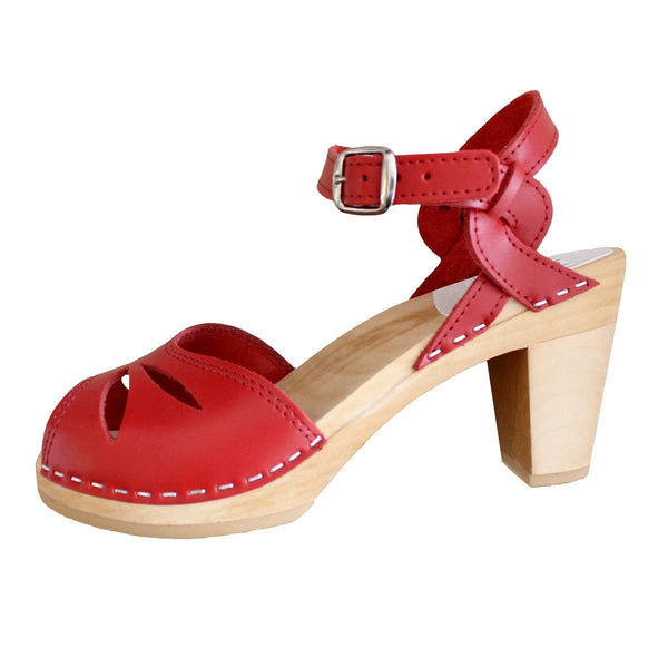 Rio Clogs in Red