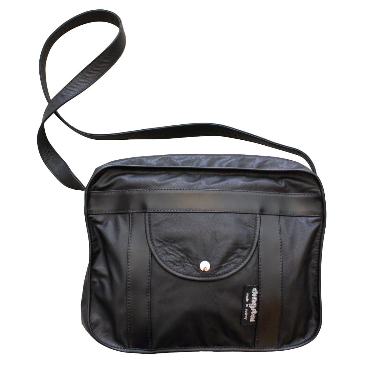 98f29547ffdc Dragstar Leather Satchel Bag - Black – Dragstar Clothing Australia