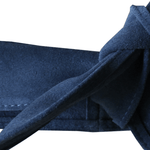 Dragstar Leather Tie Belt - Blue Suede