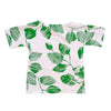 Dragstar Oversized Tee - Green Leaf / White
