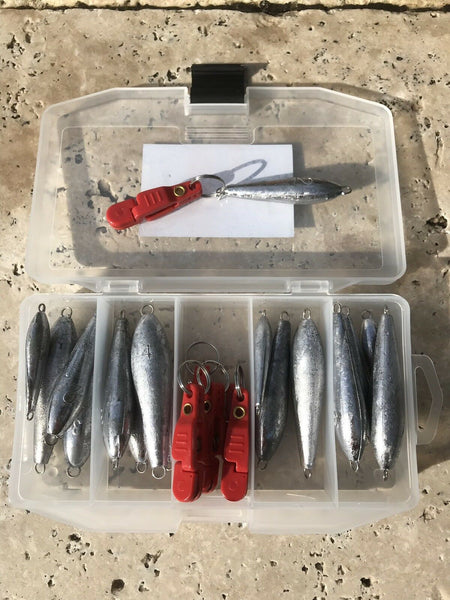 29-piece Snap Weight Trolling System