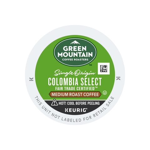 Keurig Green Mountain Colombian Fair Trade Select Coffee
