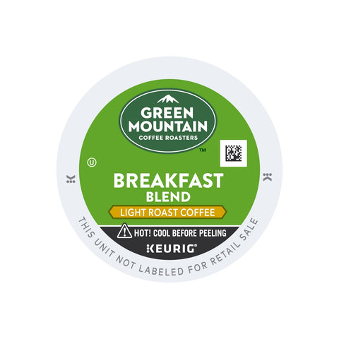 Keurig Green Mountain Breakfast Blend Coffee K Cup