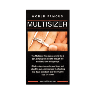 RING SIZER - Multisizer Ring Gauge