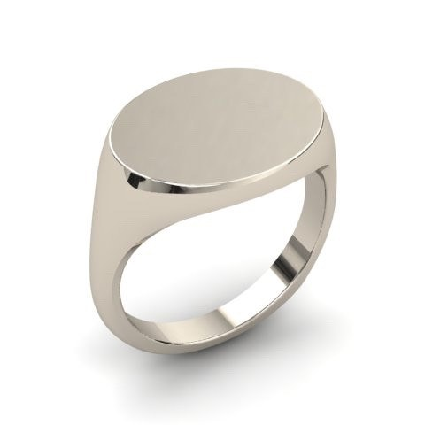 Sterling Silver Signet Ring Band Solid Signet Ring