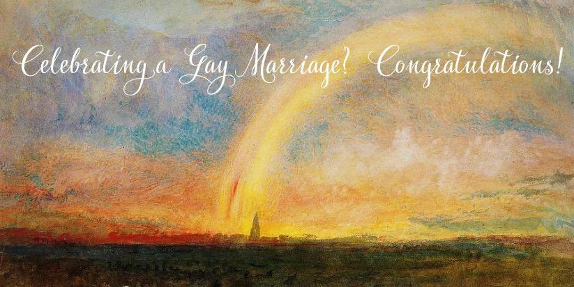 Celebrate a Gay Marriage