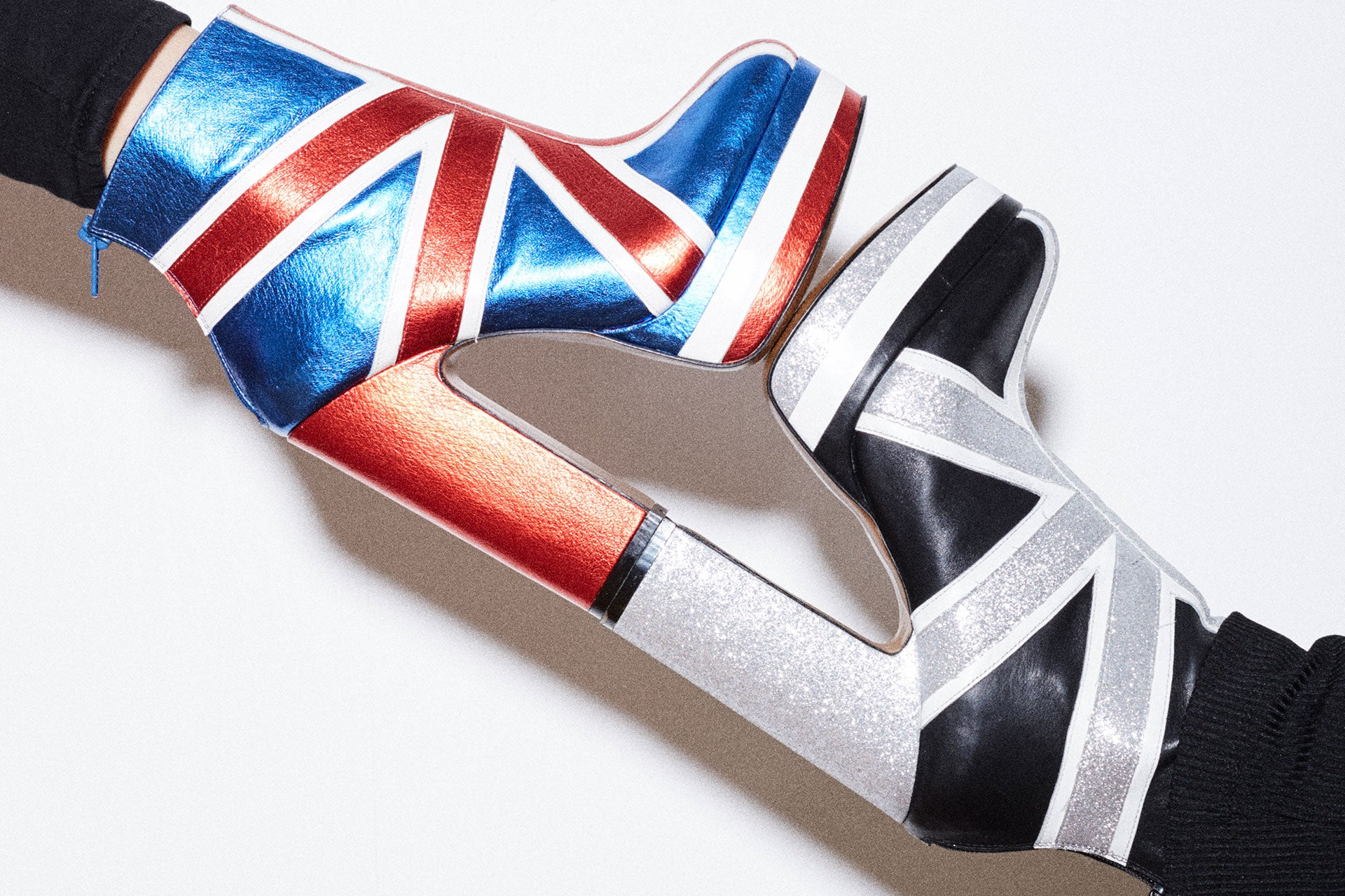 union jack shellys platform shoes