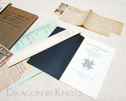 Shakespeare Ephemera from 1964