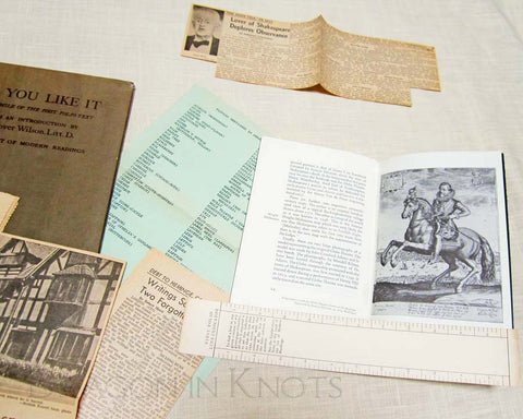 Shakespeare Ephemera