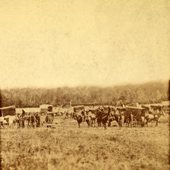 Ambulance Corps gathering dead after Battle of Antietam - Civil War photo