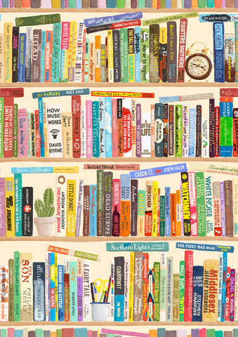 Bookshelf Art Print by Beau Wylie