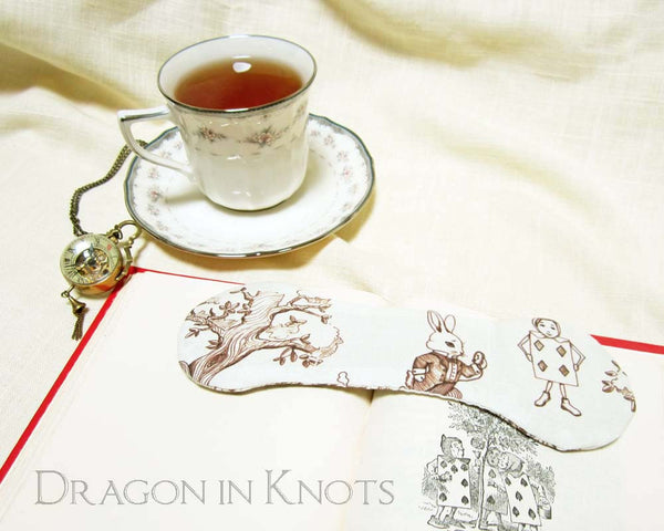 Alice Book Weight - Dragon in Knots - Book Weights