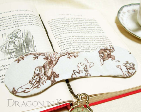 Alice Book Weight - Dragon in Knots handmade accessory