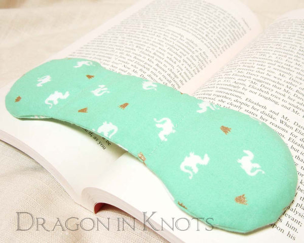 Little Dragon Book Weight - Dragon in Knots handmade accessory