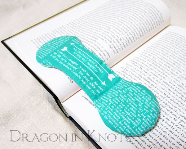 Pride and Prejudice Book Weight -  - Book Weights - Dragon in  Knots - 6