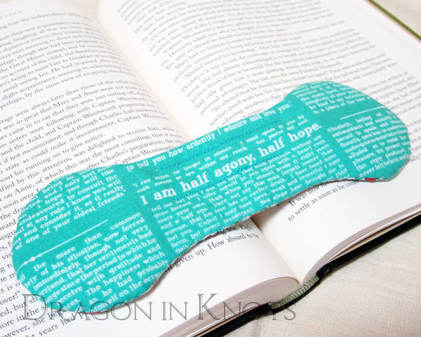 Persuasion Book Weight -  - Book Weights - Dragon in  Knots - 8