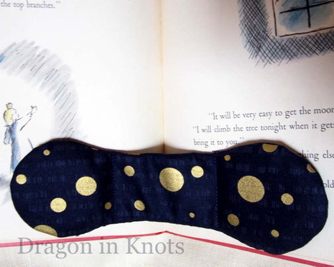 Moon Book Weight - Dragon in Knots handmade accessory