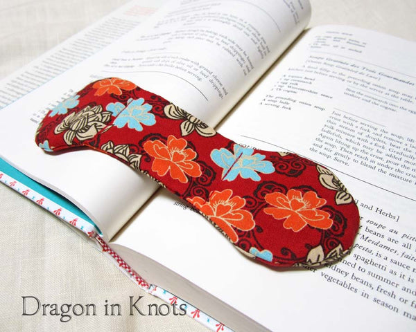 Book Weight - Lotus Blossoms - Dragon in Knots - Book Weights