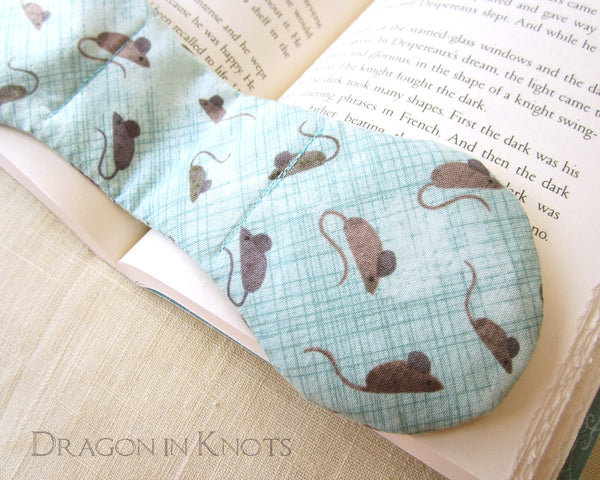 Little Mice Book Weight Page Holder