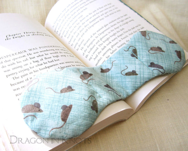 Light Blue Weighted Bookmark