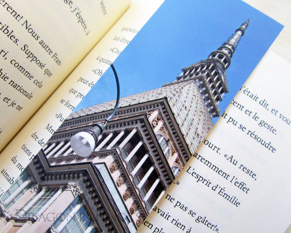 Mole Antonelliana Bookmark - Dragon in Knots handmade accessory