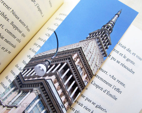 Mole Antonelliana Bookmark - Turin, Italy travel photo