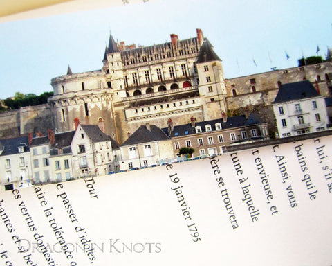 Château Royal Bookmark - Amboise, France - Castles of the Loire Valley