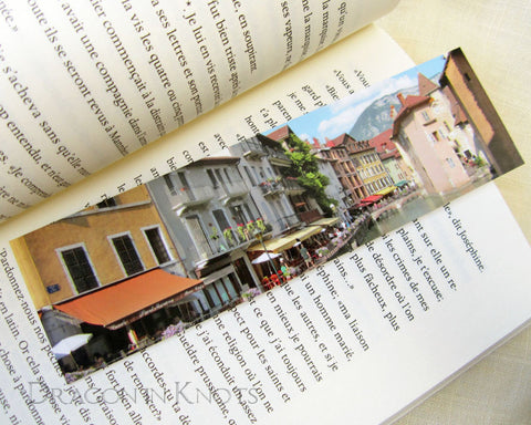 Canalside View Bookmark - Dragon in Knots - Photo Bookmarks