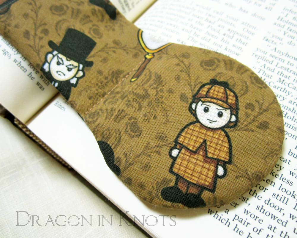 Sherlock Holmes Book Weight - Dragon in Knots - Book Weights
