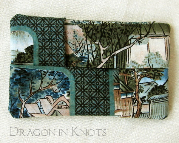 Village Scene Pocket Tissue Cover -  - Tissue Holders - Dragon in  Knots - 2