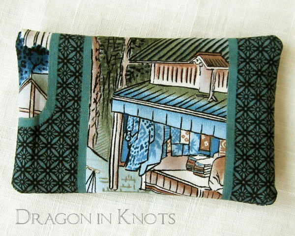 Village Scene Pocket Tissue Cover -  - Tissue Holders - Dragon in  Knots - 3
