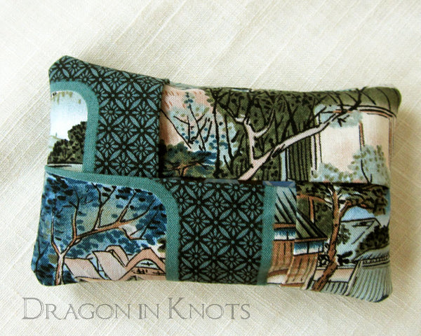 Village Scene Pocket Tissue Cover -  - Tissue Holders - Dragon in  Knots - 4