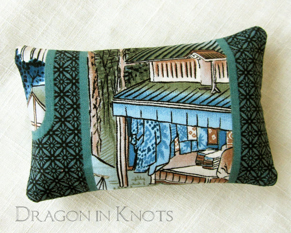 Village Scene Pocket Tissue Cover -  - Tissue Holders - Dragon in  Knots - 1
