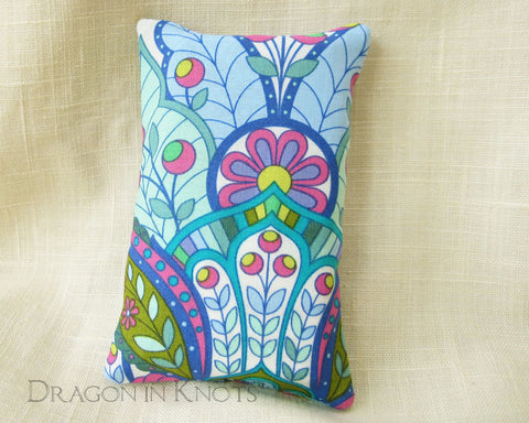 Art nouveau Pocket Tissue Cover - Dragon in Knots handmade accessory