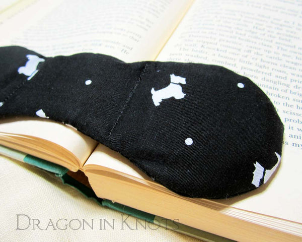 Scottie Dog Book Weight - Dragon in Knots handmade accessory