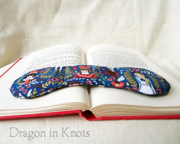 Wonderland Book Weight Page Holder - Dragon in Knots handmade accessory