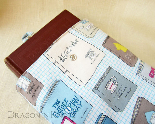 Book Love Book Sleeve - Dragon in Knots - Book Sleeves
