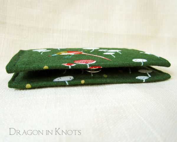 Pheasant Slim Card Wallet - Dragon in Knots - Card Wallets