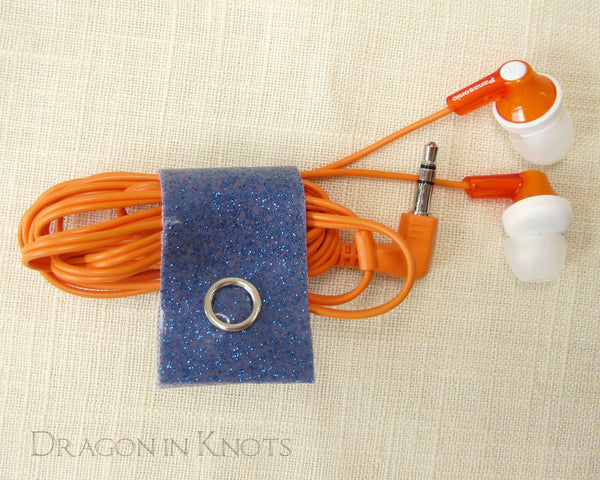 Unicorn Colors - Cord Clips - Dragon in Knots handmade accessory