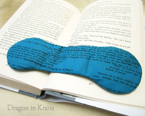 Currently Reading - Book Weight - Dragon in Knots handmade accessory