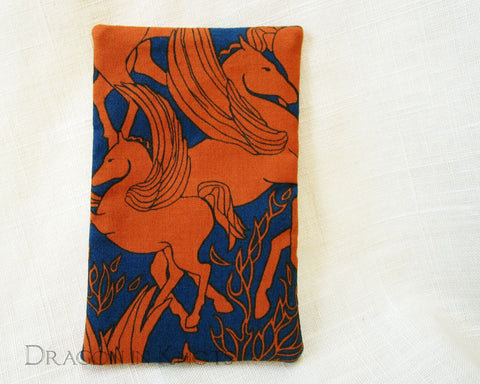 Pegasus Travel Tissue Holder - Dragon in Knots handmade accessory