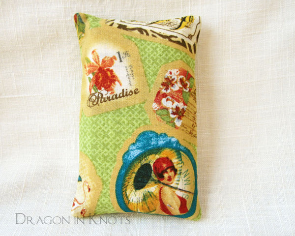 Travelogue Pocket Tissue Holder - Dragon in Knots - Tissue Holders