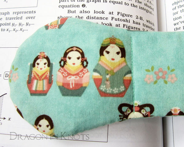 Korean Matryoshka Book Weight -  - Book Weights - Dragon in  Knots - 1