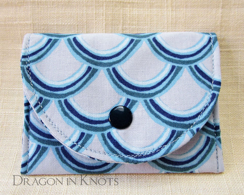 Book Dragon - Card Wallet - Dragon in Knots - Card Wallets