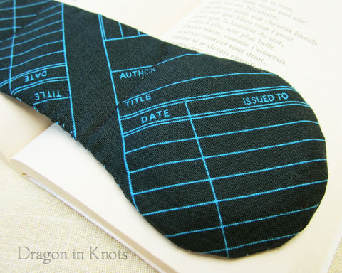 Library Checkout - Book Weight - Dragon in Knots handmade accessory
