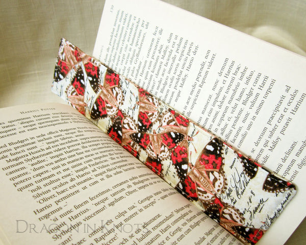 Moth Bookmark - Dragon in Knots handmade accessory