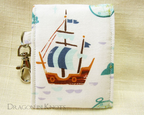 On the High Seas - Mini Essentials Pouch - Dragon in Knots - Lip Gloss Pouches