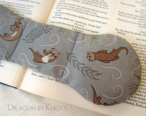 Otter Book Weight - Dragon in Knots handmade accessory