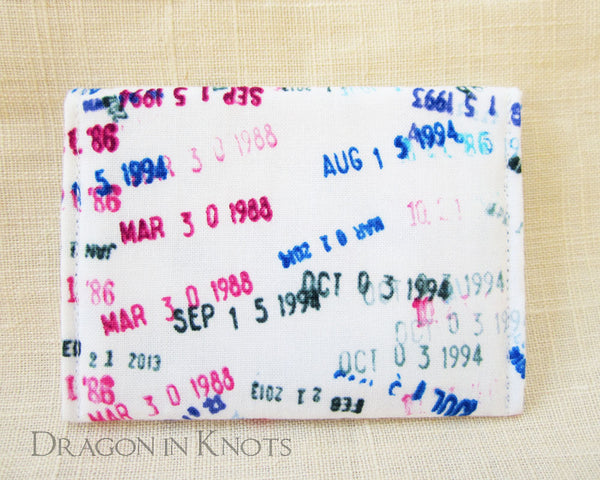 Overdue - Card Wallet - Dragon in Knots - Card Wallets